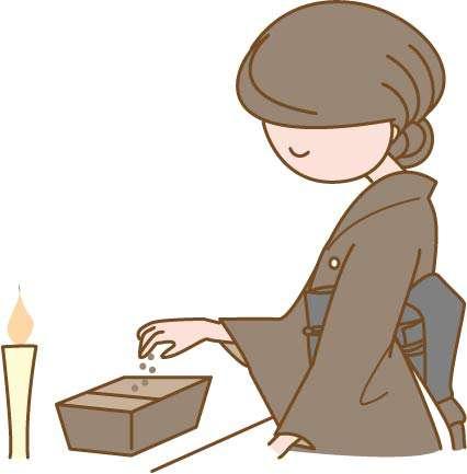 葬儀に参加する人の画像2